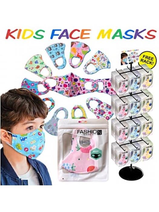 Masti de protectie reutilizabile fashion copii SUA dispenser 288buc