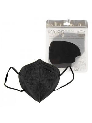 Masti de protectie KN95 negre SUA 5 straturi BFE95%
