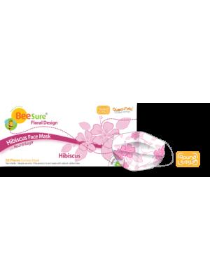 Masti de protectie BeeSure design floral roz