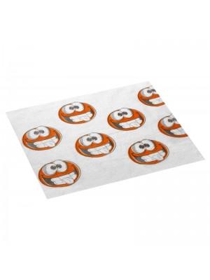 Bavete cu imprimeu Smiley 500buc