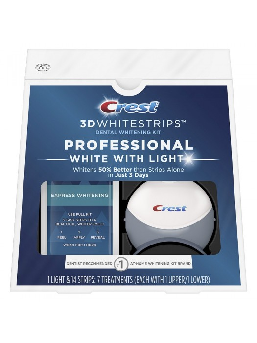 Benzi Crest 3D White Professional White with Light