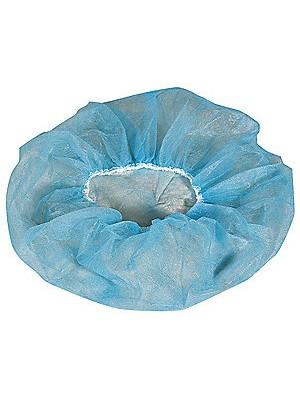 Bonete bufante culoare albastru transparent