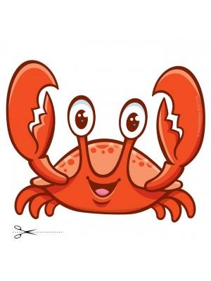 Autocolant Crab 40cm/33cm