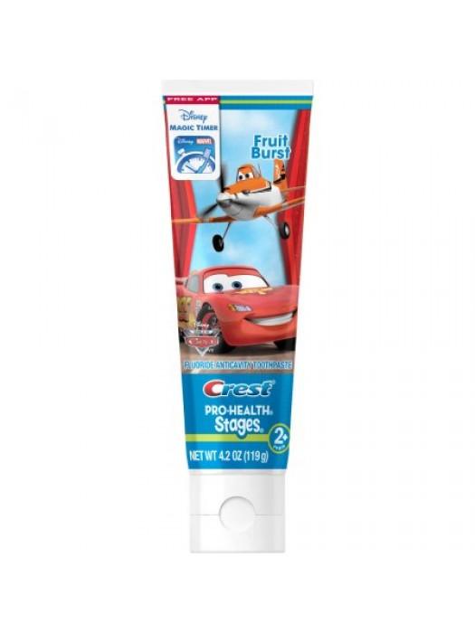 Pasta de dinti pentru copii Crest Cars 119gr