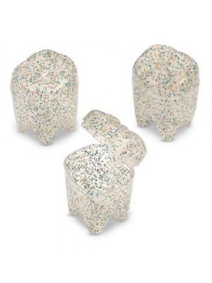 Cutiute dintisori, cu sclipici  6 buc/set