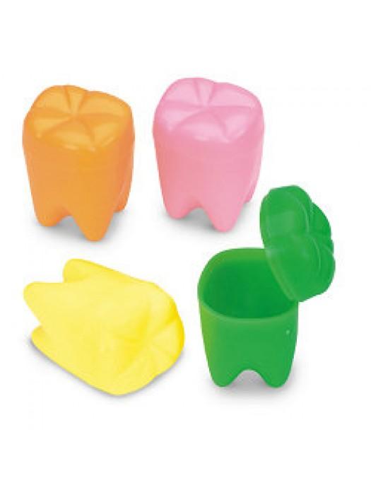 Cutiute dintisori colorate marime medie set 6 buc