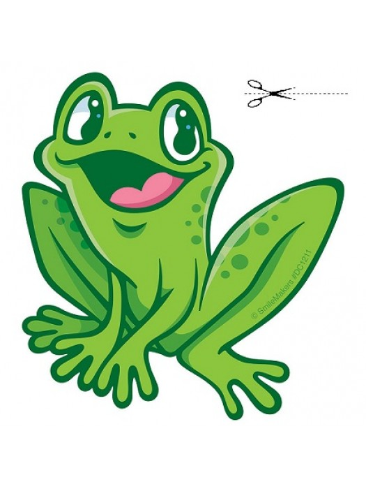 Autocolant Froggy 28cm/28cm