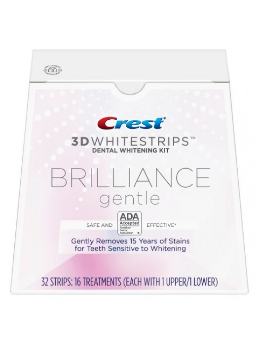 Crest Whitestrips 3D Brilliance Gentle – Cutie 16 Plicuri
