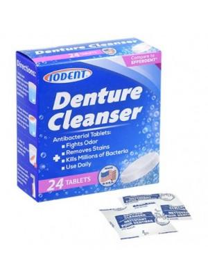Tablete igiena proteze si aparate dentare Iodent SUA 24 tablete