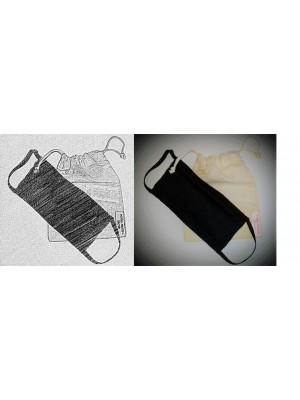 Saculet Bag by Jassz + CADOU Masca protectie textila neagra