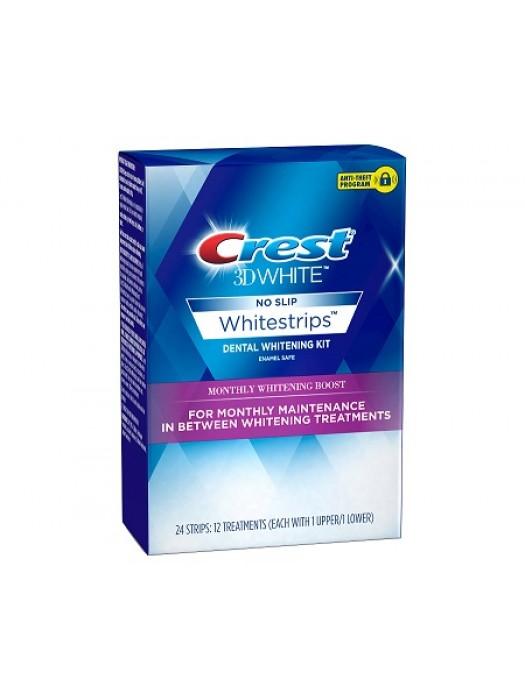 Benzi albire Crest 3D Whitening Monthly Boost