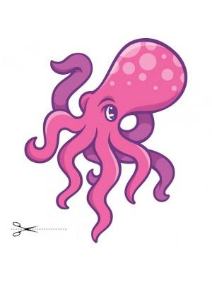 Autocolant Octopus 48cm/58cm