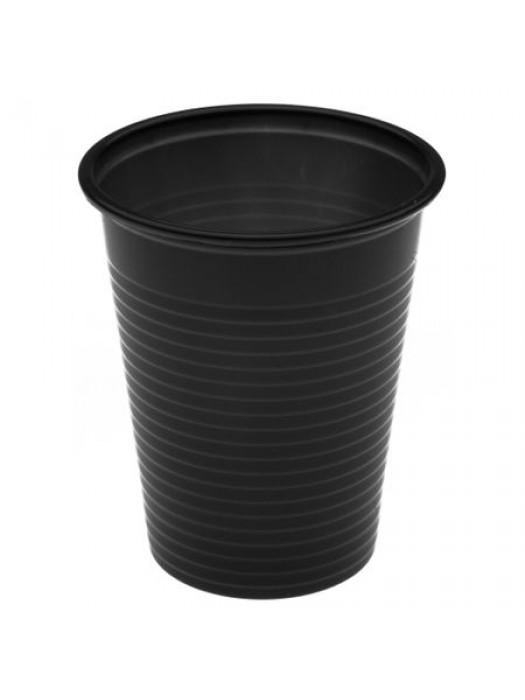 Pahare de plastic negre