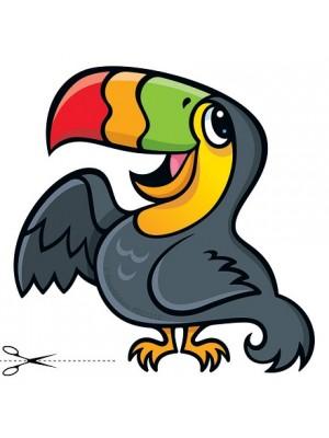 Autocolant Toucan 30cm/32cm
