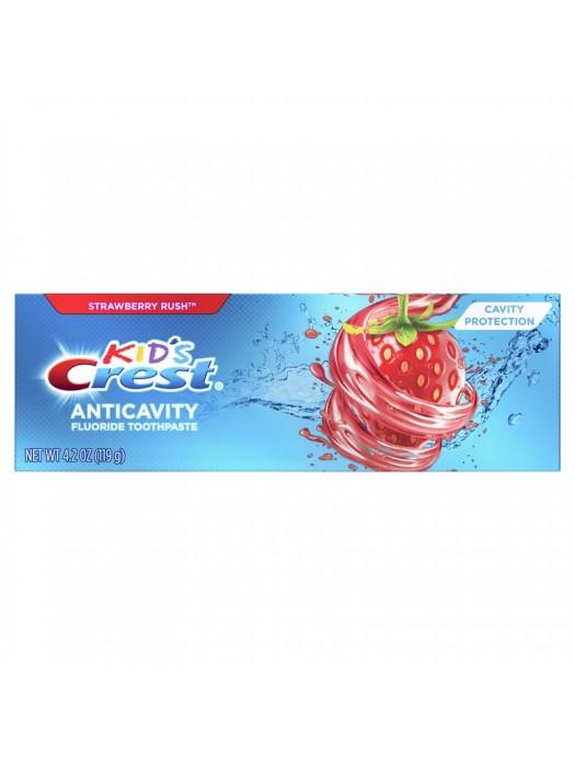 Pasta de Dinti Crest Copii Strawberry Rush 119gr