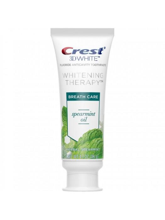 Pasta de Dinti Crest 3D White Whitening Therapy Spearmint Oil 116gr