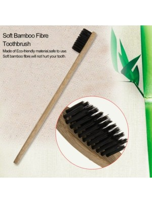 Periuta de Dinti din Lemn si Fibre de Bambus – Eco