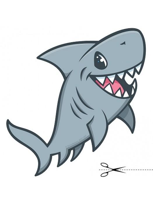 Autocolant Shark 46cm/48cm