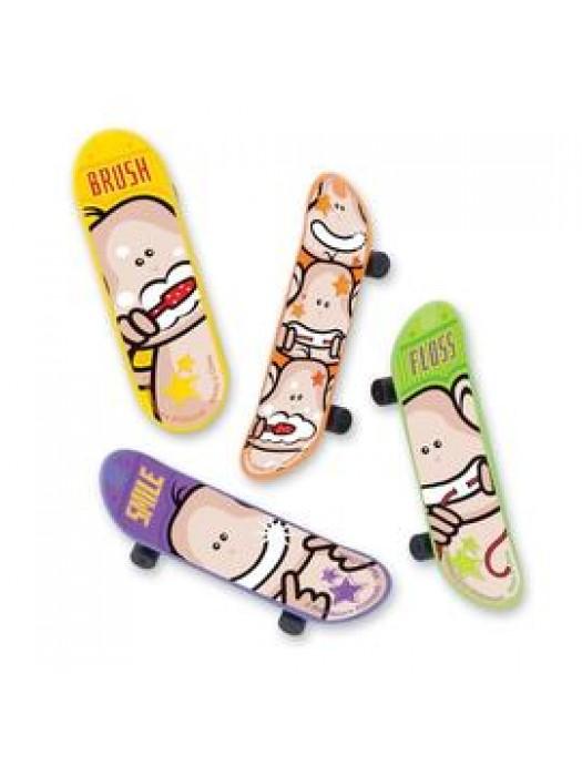 Skateboard Brush Floss Smile