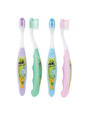 Periute de dinti pentru copii Jungle Friends 3-6 ani