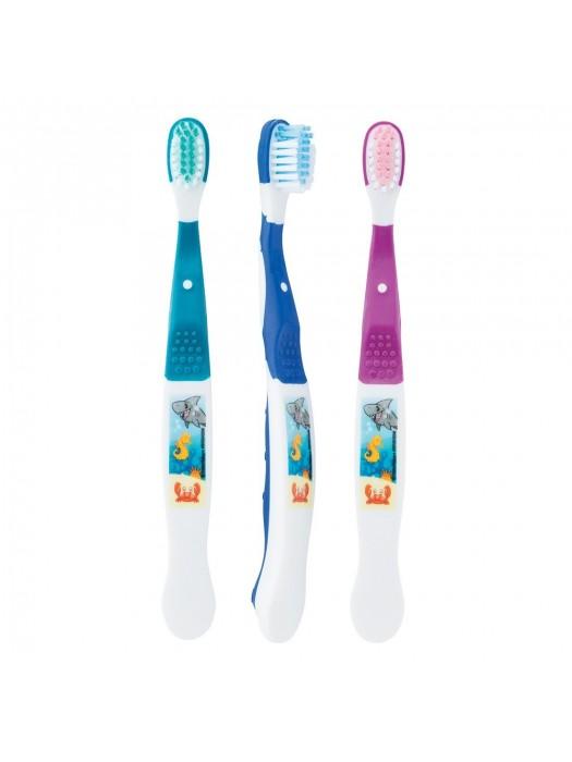 Periute de dinti pentru copii Sea Little Friends 5-8ani