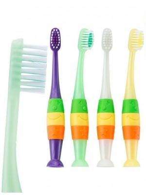 Periute de dinti pentru copii Silly Handle 5-8 ani