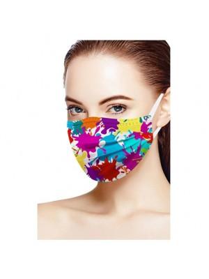 Masti de protectie colorate Spots 50buc/set