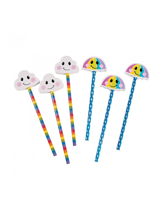 Creion cu radiera umbreluta sau norisor XXL