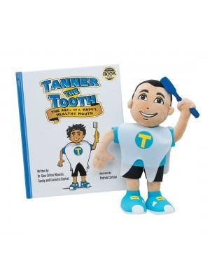Model de studiu Tanner si carticica ABC-ul gurii sanatoase.