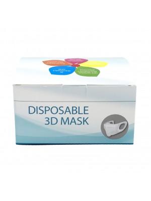 Masti de protectie 3D non medicale SUA  50buc/set