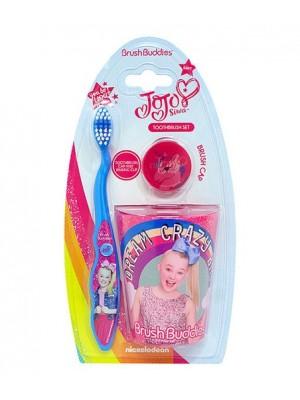 Set igiena dentara copii 3-6 ani Pink JOJO fete SUA